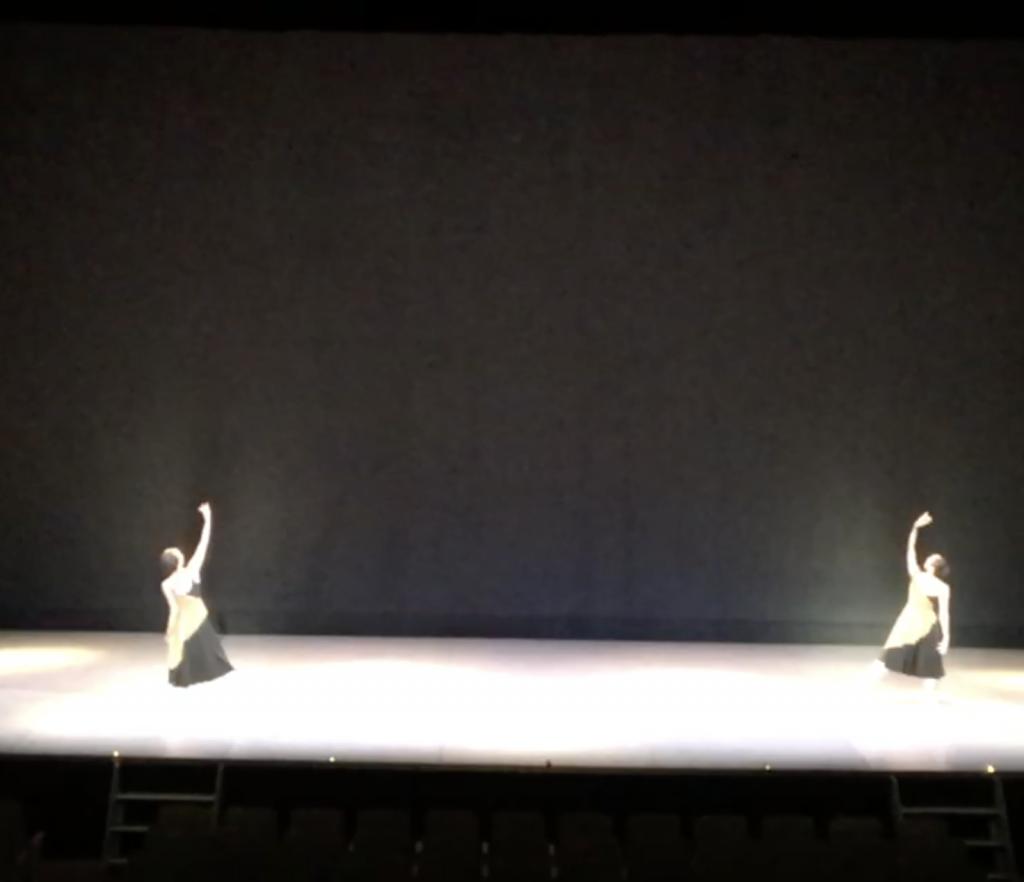 バレエ発表会、コンテ